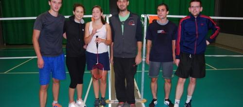 Badmintonový turnaj amatérov 2015