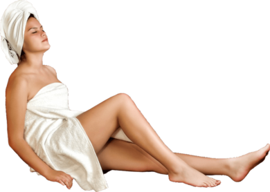 woman-sauna